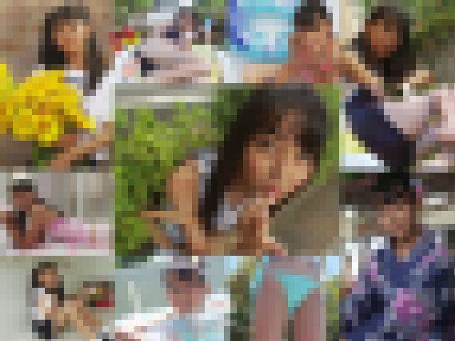 夏少女 Part2 ~残暑お見舞い申し上げます~ 無料画像