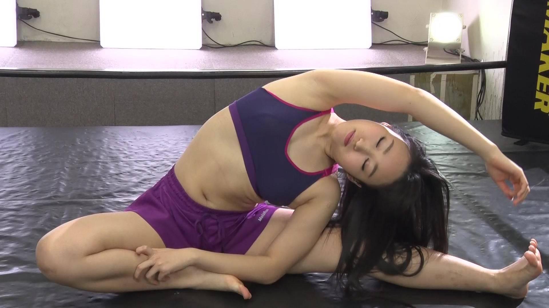 汗だくトレーニング 悠月アイシャ&小川ひまり パッケージ
