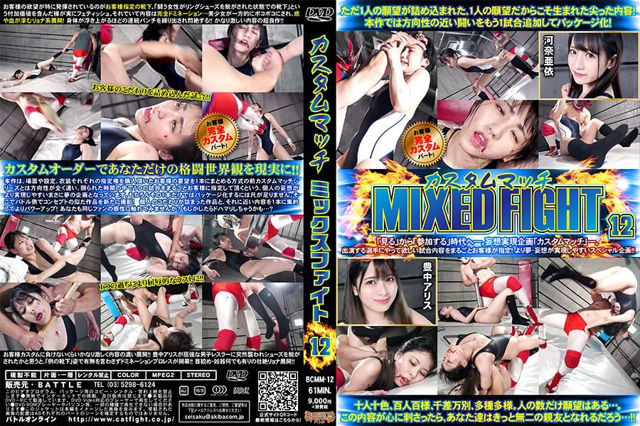 【HD】カスタムマッチMIXED FIGHT 12【プレミアム会員限定】 パッケージ