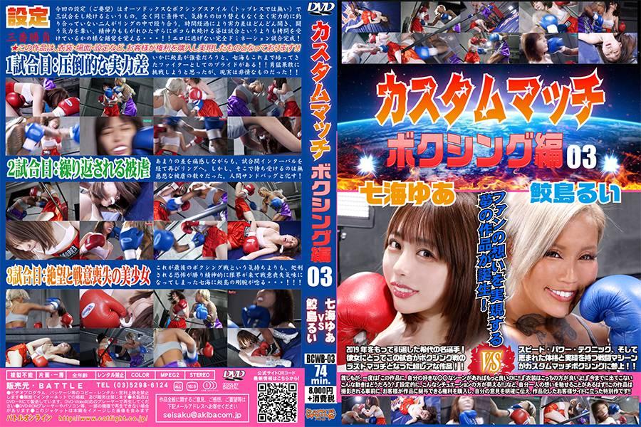 【HD】カスタムマッチ ボクシング編03 パッケージ