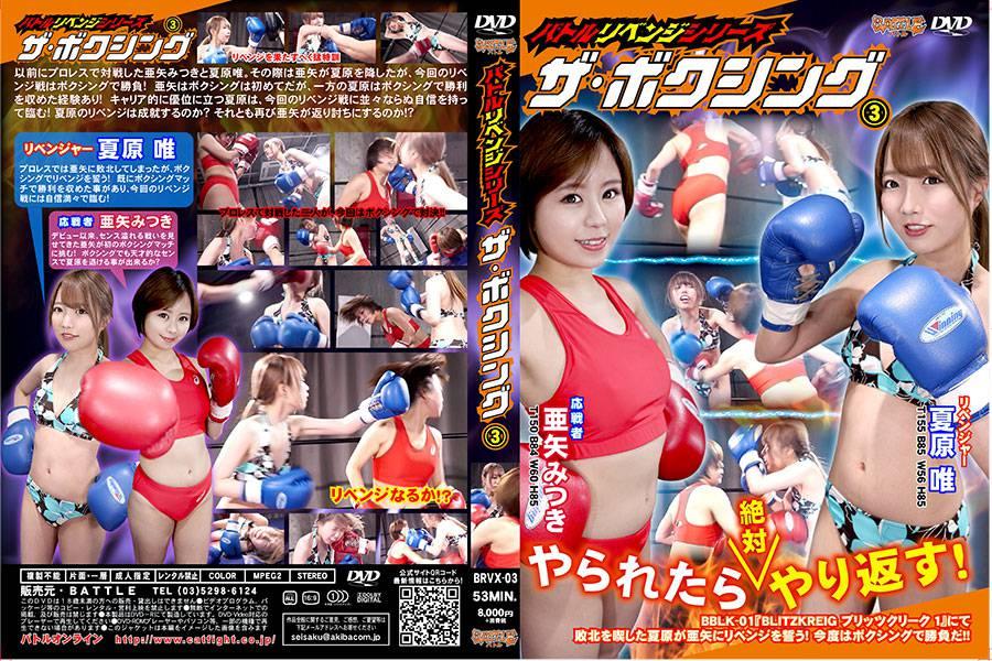 【HD】バトルリベンジシリーズ ザ・ボクシング 3【プレミアム会員限定】 パッケージ
