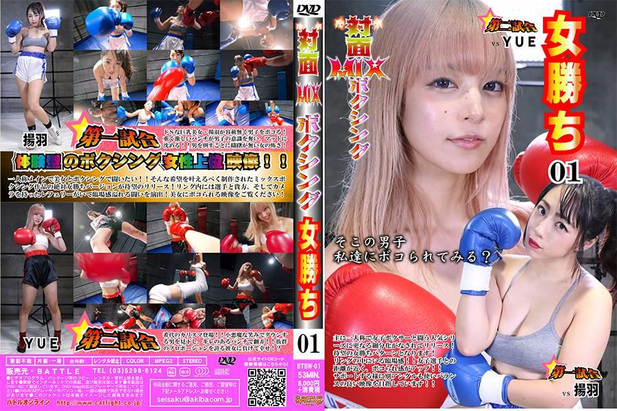 【HD】対面MIXボクシング 女勝ち 01 パッケージ