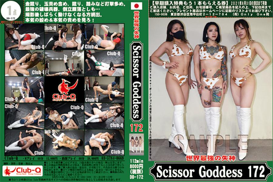世界最強の失神 ScissorGoddess 172 パッケージ