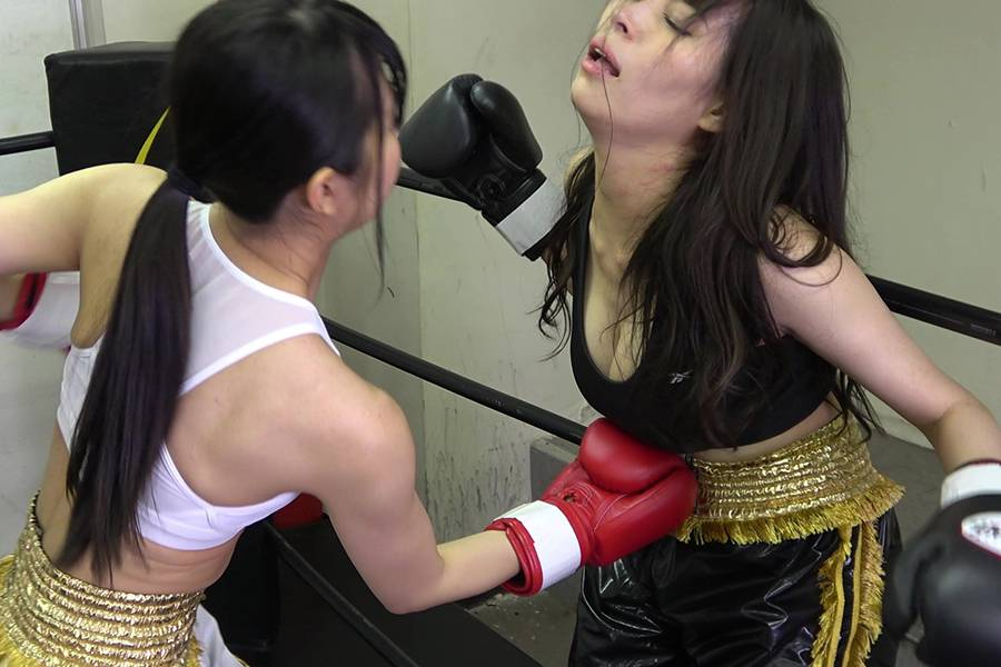 悶絶ボクシング001 真木今日子vs浅倉真凛 パッケージ