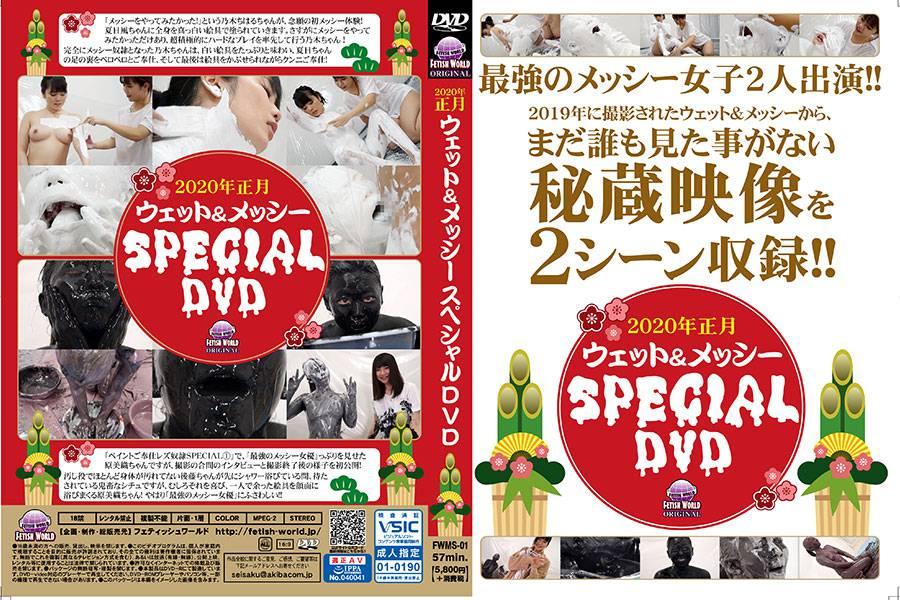 2020年正月ウェット&メッシーSPECIAL DVD パッケージ