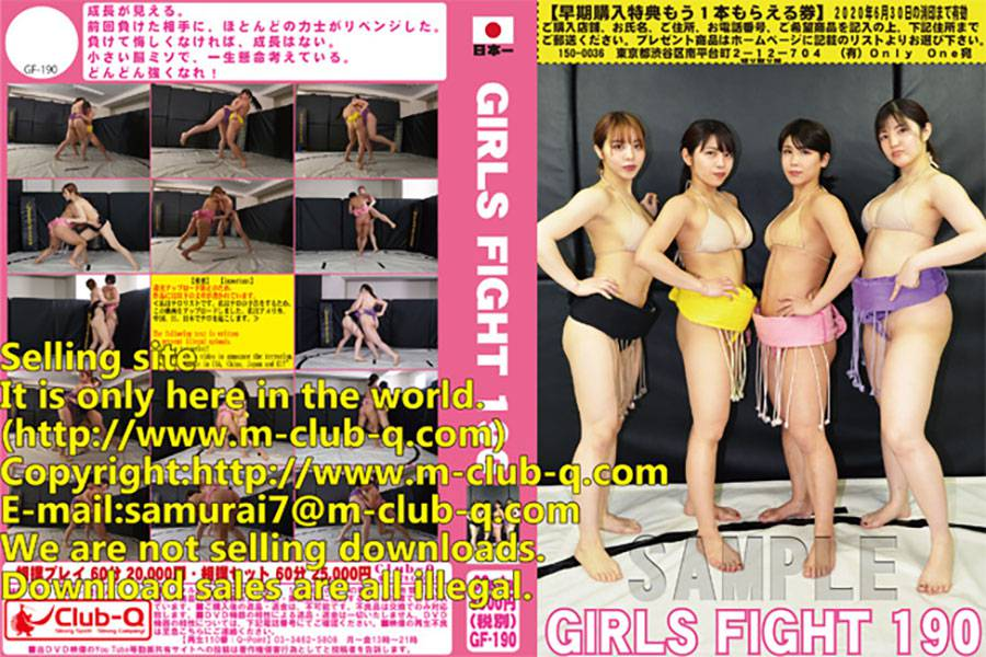 GIRLS FIGHT 190 パッケージ