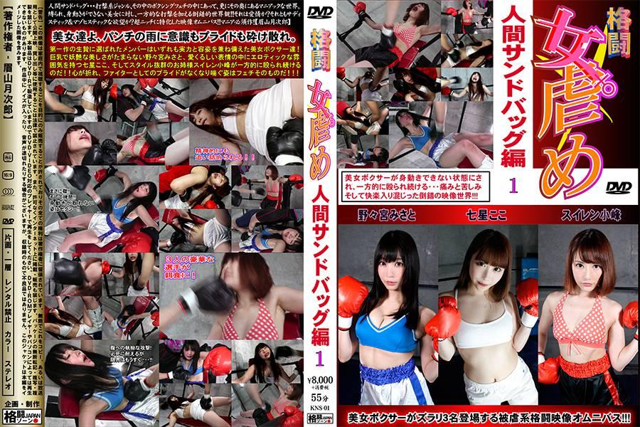 【HD】格闘女虐め 人間サンドバッグ編1 パッケージ