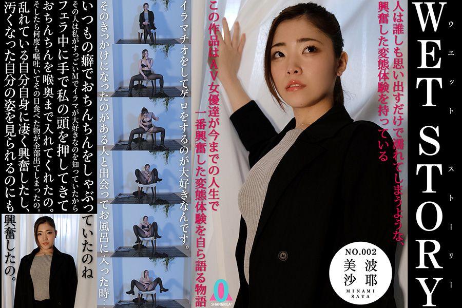【HD】WET STORY NO.002 美波沙耶 パッケージ