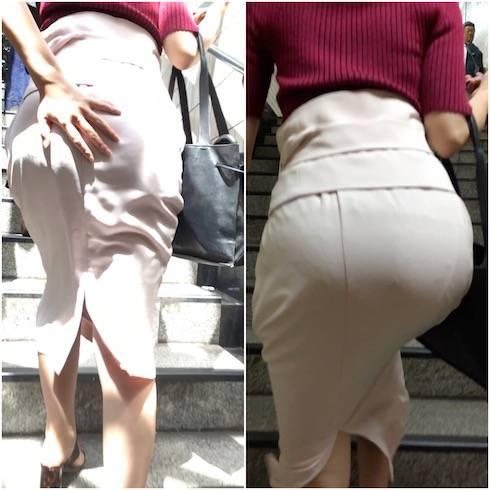 街撮り 年増OL オフィスレディー街撮り画像 OLスーツを着てるOLの女性の色気を ...