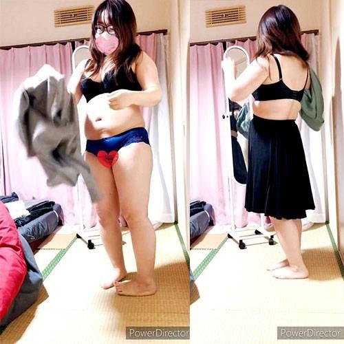 女子小中学生  全裸  正面直立