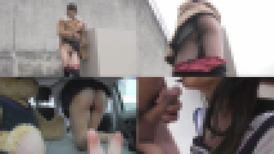 みきちゃんのプチ露出とオナニー&手コキ みき 画像