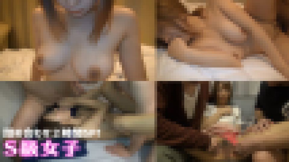 【超お買い得2時間超え収録!】茶髪スレンダーギャルに3P大乱行!&巨乳ギャルにディルドやおもちゃで猛責め!大迫力性交!! S級素人 画像
