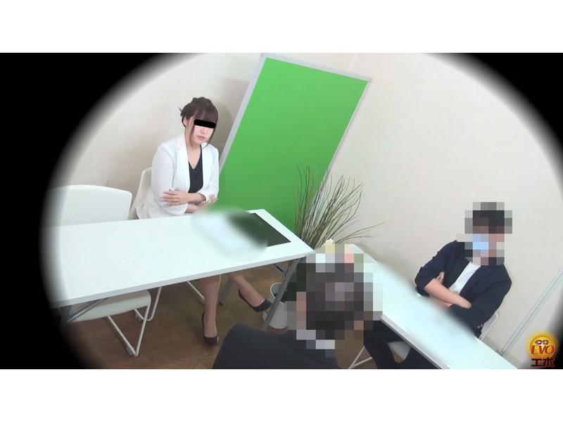 盗撮 意地悪な面接官の膀胱圧迫お漏らし! 面接会場の悲劇… サンプル画像