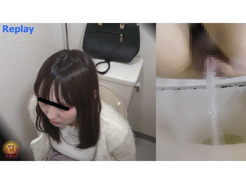 洋式トイレ盗撮 女の素顔放屁放尿 サンプル画像