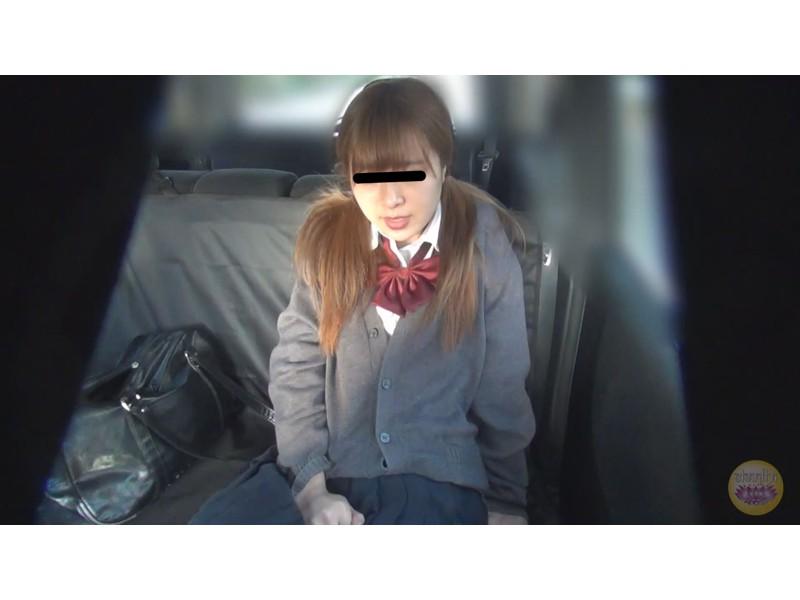 女学生 高速道路 車内お漏らし サンプル画像