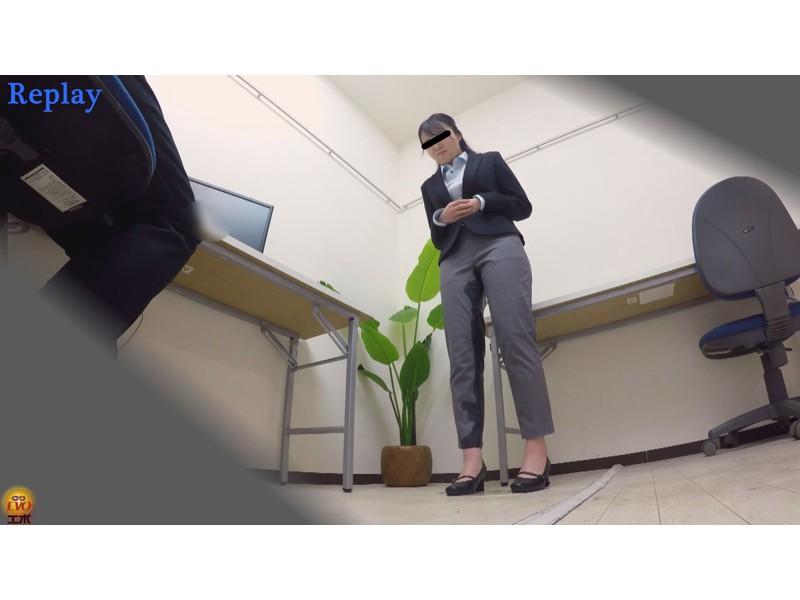 盗撮 パワハラ職場のOL醜態失禁 サンプル画像