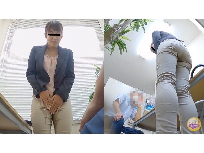 オフィス隠撮 OL説教お漏らし3 サンプル画像