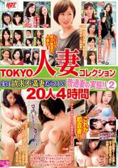 TOKYO人妻コレクション 実は欲求不満だらけ!?普通妻の実態!! 2 20人4時間 サンプル画像