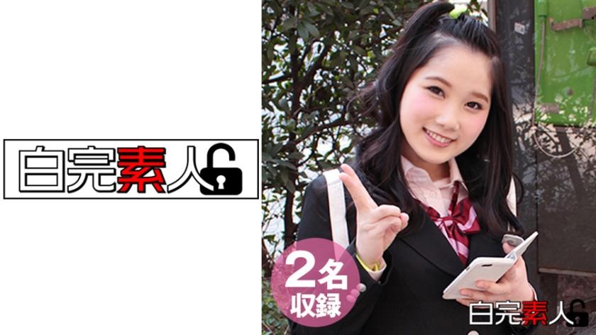 笑顔が可愛いビッチJ○ちゃんと【円】乱交。 2名収録 サンプル画像